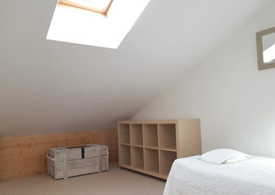 Room Jonquilles - attic with peaceful space